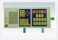 Waterproof membrane switch panel 4
