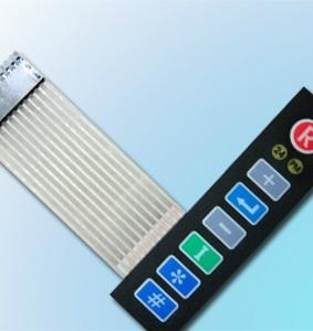 Waterproof membrane switch panel 5