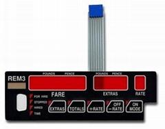 Anti fire retardant thin film switch panel