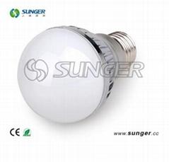 E27 6W LED Bulb Light