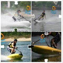 水上滑板,动力冲浪艇