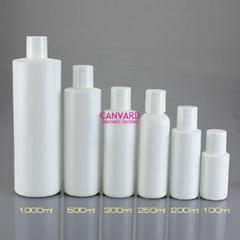 JH-SE-136-white shampoo bottle with cap