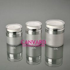 JH-AS-022-high end airless press jar