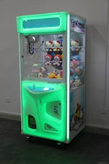 Toy Claw Crane Machine Arcade Claw Game Machine LED crane claw machine