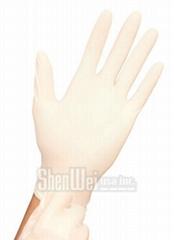 100% Latex Premium Exam Examination Gloves - Powder Free
