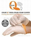 SW Brand Color-Q DUAL-Color Nitrile Exam