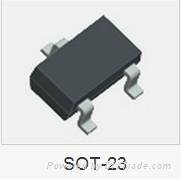 三极管2N5551贴片丝印G1