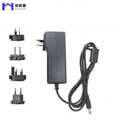 穩壓轉換頭12V5A能效6級移動開關電源適配器CE/UL/PSE等認証電源