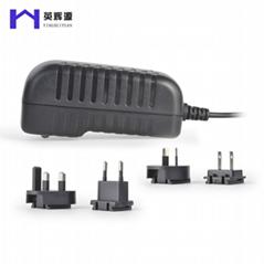 12V转换头插墙式开关电源适配器 监控通用电源适配器
