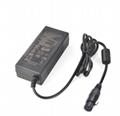 CE UL認証60W票據標籤打印機適配器24v2.5a桌面式電源適配器 1