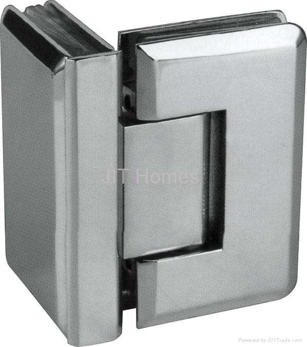 90° Glass to glass hinge