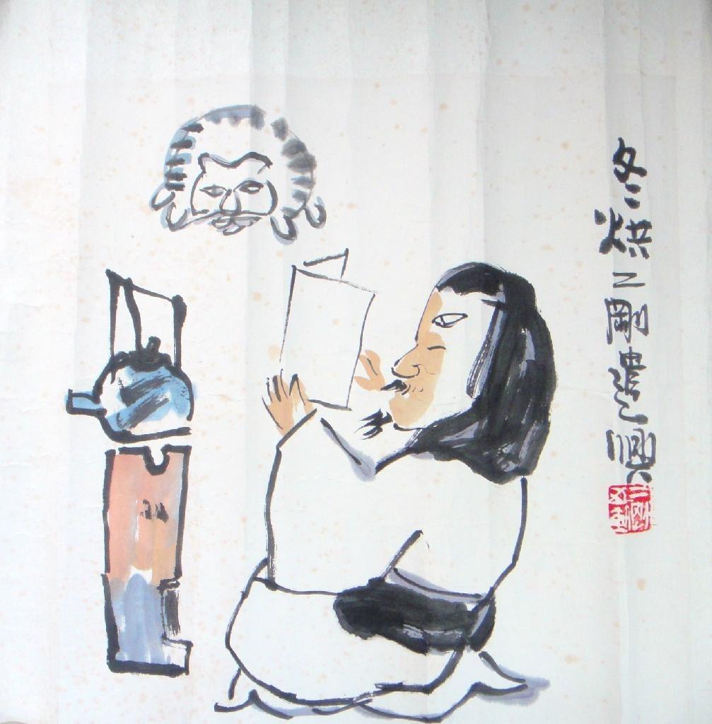 江苏名画家 刘二刚  作品
