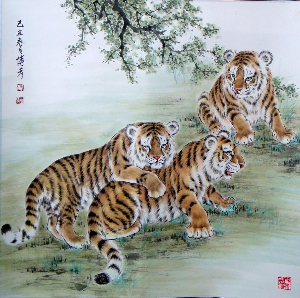 江蘇名畫家 劉二剛  作品