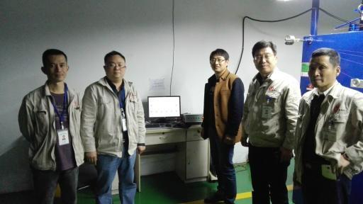 在线监控系统在成都西南电工器材有限公司安装使用