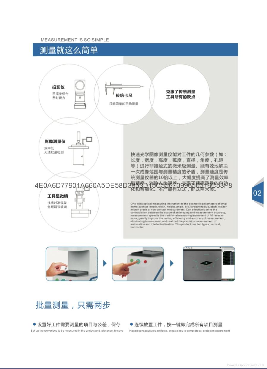 快速光学图像测量仪 3