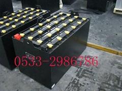 台勵福叉車蓄電池D-500