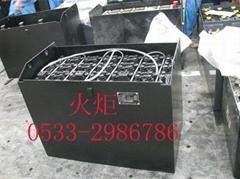 台励福叉车3吨蓄电池