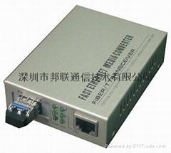 千兆SFP快速以太网光纤收发器