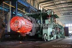 120 ton rail bound forging manipulator