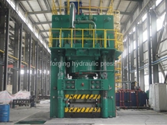 hot die hydraulic press