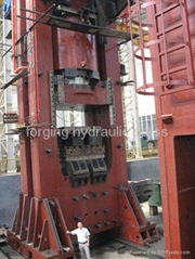 50000 ton hot extrusion hydraulic press