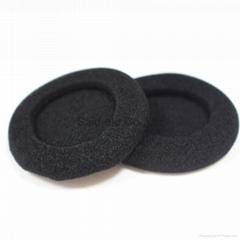 50mm foam ear pads sponge ear cushion for most  on head headphones