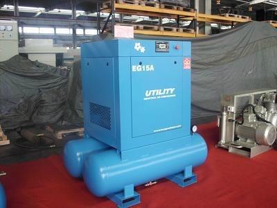 小型双螺杆空压机(自带储气罐)