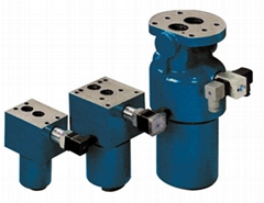 WKDF...P型板式安裝壓力過濾器