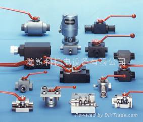 Wk-hydraulic 液压高压球阀 1