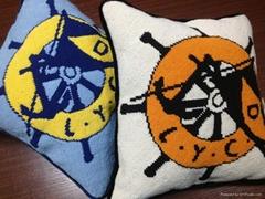 Handmade Custom Needlepoint Pillow