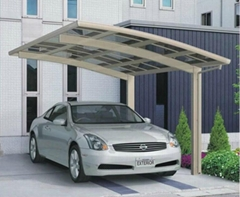 PC CARPORT car roofing sunshad