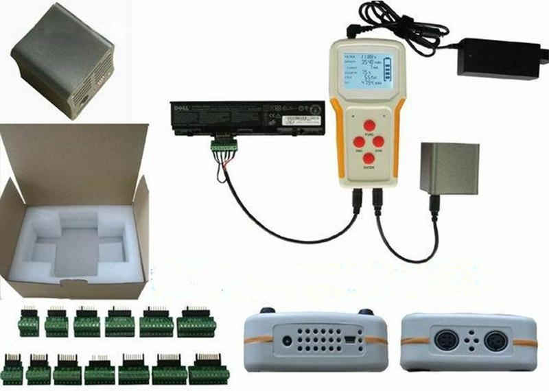 RFNT3 universal laptop battery tester with charge discharge testing corre 2