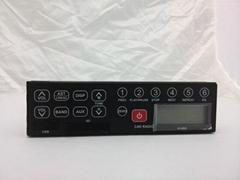 Japanese manufacturer am fm excavator radios auto radio 24v