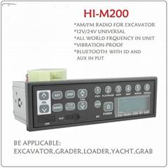 Japan Quality AM FM 12-24 Volt Car Radio