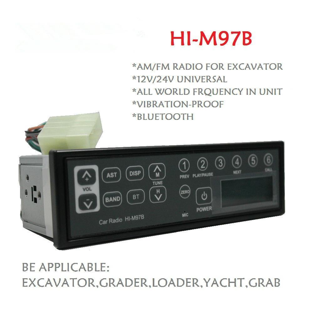 Bluetooth Excavator Radio two way radio digital radio 1