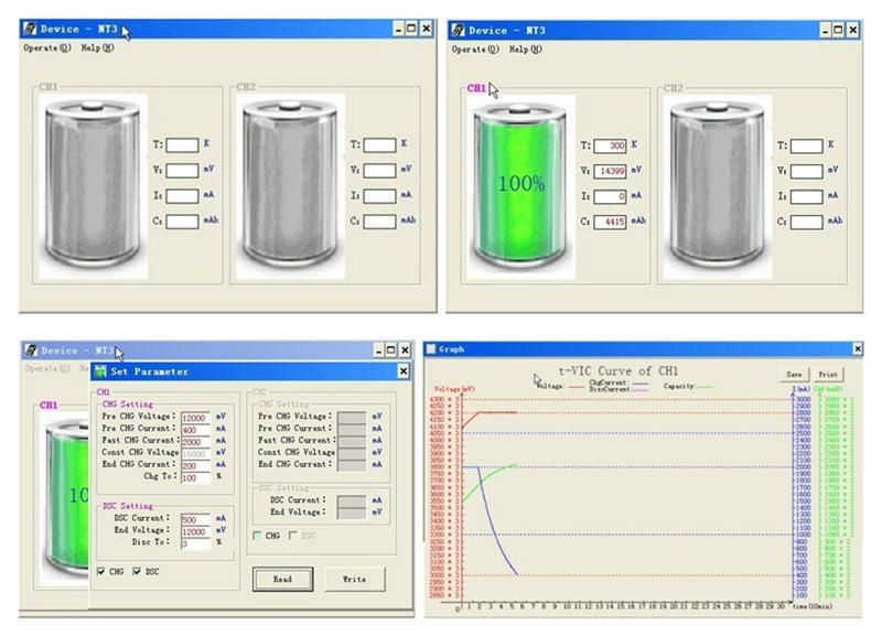 Testing Equipment RFNT3 Portable Laptop Battery Tester 7