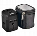 Newest Travel Adapter Universal Plug to American Power Adapter With Safety