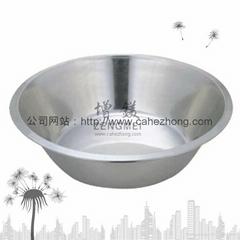 不鏽鋼加厚大麵盆