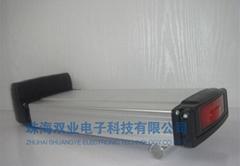 36V 10AH后衣架電動車鋰電池