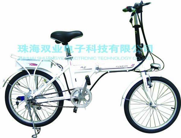 樂騏鋰電池迷你折疊電動自行車 1