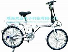 樂騏鋰電池迷你折疊電動自行車