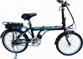 樂騏鋰電池迷你折疊電動自行車 2