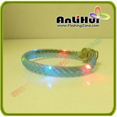 LED flashing bracelet