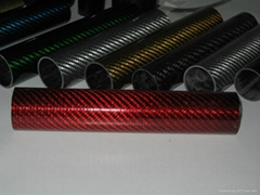 Glossy Glass fiber tube
