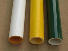 painted surface glass fiber tube