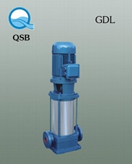 GDL多級管道不鏽鋼離心泵