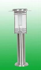 太陽能不鏽鋼庭院燈JY017