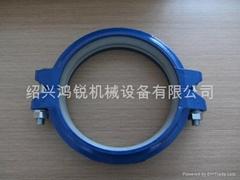 鑄鐵溝槽撓性水處理卡箍