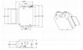 (自助终端防盗)电动读卡机 TTCE-M169