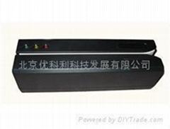 123轨高抗磁卡读写器(9V、USB接口、4000OE)